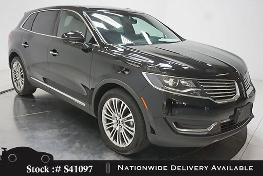 2018_Lincoln_MKX_Reserve NAV,CAM,PANO,CLMT STS,BLIND SPOT,20IN WLS_ Plano TX
