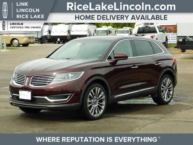2018 Lincoln MKX Reserve Rice Lake WI