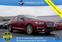 2018 Lincoln MKZ Reserve AWD ** Pohanka Certified 10 Year / 100,000  **