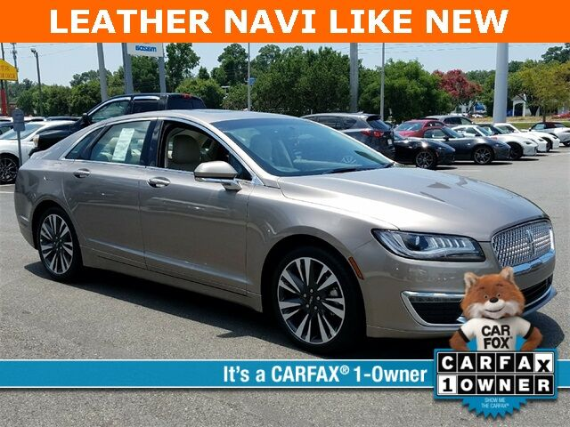 2018 Lincoln MKZ Select Savannah GA