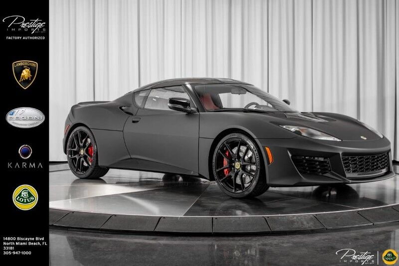 2018 Lotus Evora 410 Sport (Only GT 410 in U.S.)  North Miami Beach FL