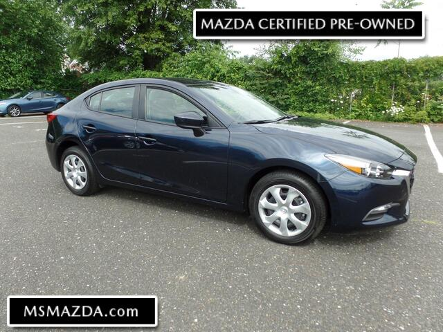 2018 MAZDA MAZDA3 4-Door Sport - Back-up - Bluetooth - Auto Trans  3713 MI Maple Shade NJ
