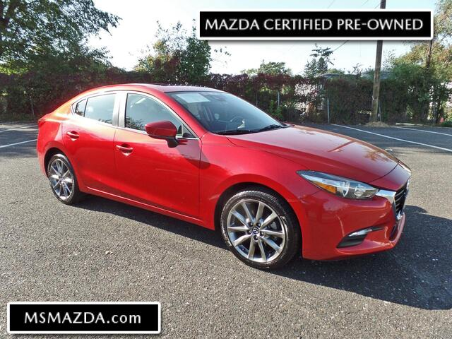 2018 MAZDA MAZDA3 4-Door Touring 2.5 lt - Heated Leatherette - Blind Spot Alert - 8706 MI Maple Shade NJ