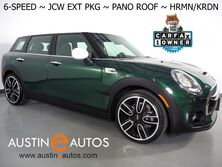 MINI Clubman S *6-SPEED, JCW EXTERIOR PKG, PANORAMA MOONROOF, BACKUP-CAMERA, HARMAN/KARDON, SPORT SEATS, COMFORT ACCESS, BLUETOOTH PHONE & AUDIO 2018
