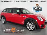2018 MINI Clubman S *JCW EXTERIOR PKG, HEADS-UP DISPLAY, NAVIGATION, BACKUP-CAMERA, PANORAMA MOONROOF, HARMAN/KARDON, LED HEADLIGHTS, COMFORT ACCESS, APPLE CARPLAY
