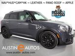 2018 MINI Cooper Countryman S *NAVIGATION, HEADS-UP DISPLAY, BACKUP-CAMERA, TOUCH SCREEN, PANORAMA MOONROOF, LOUNGE LEATHER, HEATED SEATS, HARMAN/KARDON, APPLE CARPLAY