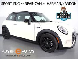 2018_MINI_Cooper Hardtop_*SPORT PKG, BACKUP-CAMERA, VISUAL BOOST, HARMAN/KARDON, LED HEADLIGHTS, HEATED SPORT SEATS, BLACK ALLOYS, BLUETOOTH PHONE & AUDIO_ Round Rock TX