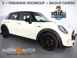 2018_MINI_Cooper S 4 Door_*PANORAMA MOONROOF, BACKUP-CAMERA, MINI VISUAL BOOST, SPORT SEATS, STEERING WHEEL CONTROLS, BLACK ALLOY WHEELS, BLUETOOTH PHONE & AUDIO_ Round Rock TX