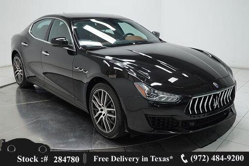 2018_Maserati_Ghibli_NAV,CAM,SUNROOF,HTD STS,BLIND SPOT,19IN WLS_ Plano TX