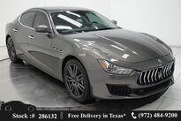 Maserati Ghibli NAV,CAM,SUNROOF,HTD STS,BLIND SPOT,20IN WLS 2018