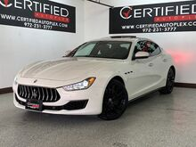 2018_Maserati_Ghibli_S Q4 AWD NAVIGATION SUNROOF REAR CAMERA PARK ASSIST BLIND SPOT A_ Carrollton TX