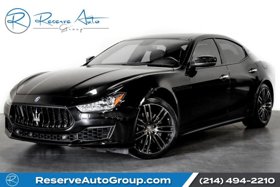 2018_Maserati_Ghibli_S Q4 Blind Spot Monitor BlackOut Pkg Urano Whl Pkg_ The Colony TX