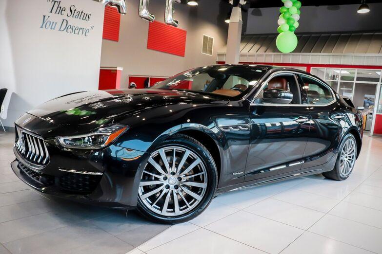 2018 Maserati Ghibli S Q4 GranLusso Navigation Sunroof 1 Owner Springfield NJ
