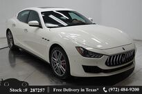 Maserati Ghibli S Q4 NAV,CAM,SUNROOF,HTD STS,BLIND SPOT,19IN WLS 2018