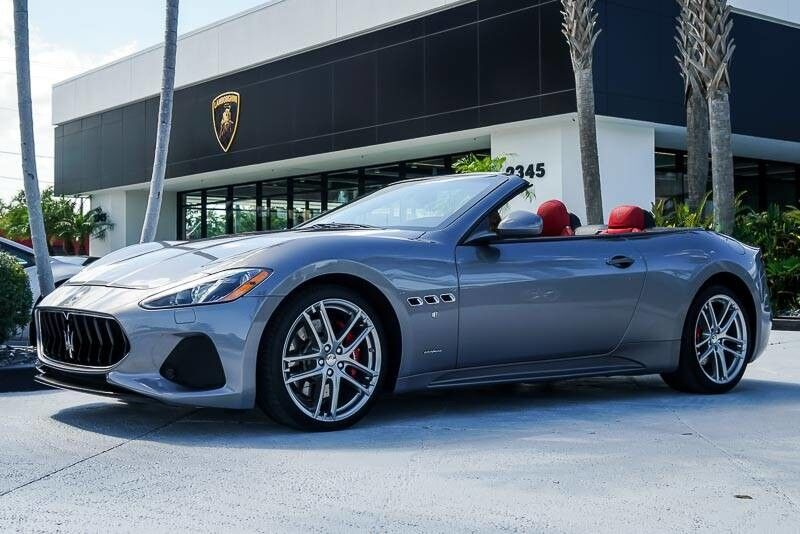 2018_Maserati_GranTurismo Convertible_MC_ Palm Beach FL