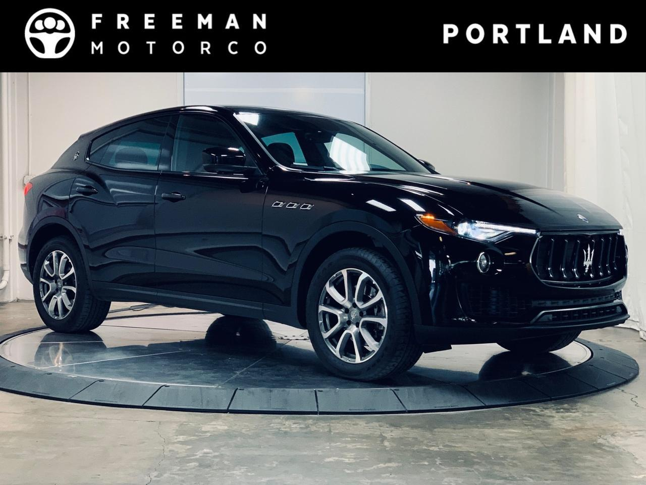 2018 Maserati Levante Sport Exhaust Heated Seats Adjustable Air Suspension Portland OR