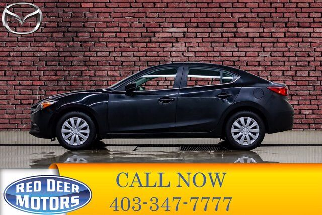 2018 Mazda 3 GS Manual BCam Heated Seats Red Deer AB