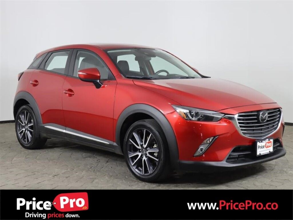 2018 Mazda CX-3 Grand Touring AWD w/Heated Leather/Sunroof/Adaptive Cruise Maumee OH
