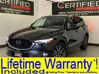 Mazda CX-5 GRAND TOURING NAVIGATION SUNROOF BLIND SPOT ASSIST REAR CAMERA LANE ASSIST 2018