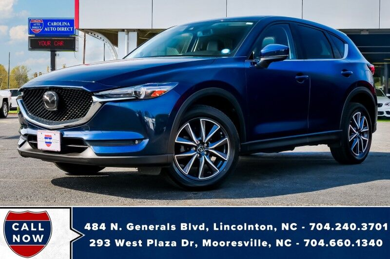 2018 Mazda CX-5 Grand Touring AWD w/ Heated Front Seats & NAV