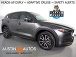 2018 Mazda CX-5 Grand Touring *HEADS-UP DISPLAY, NAVIGATION, BLIND SPOT & LANE DEPARTURE ALERT, COLLISION ALERT w/BRAKING, ADAPTIVE CRUISE, BACKUP-CAM, MOONROOF, LEATHER, BOSE AUDIO