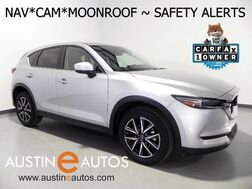 2018_Mazda_CX-5 Grand Touring_*NAVIGATION, BLIND SPOT ALERT, COLLISION ALERT, LANE DEPARTURE WARNING, BACKUP-CAM, MOONROOF, LEATHER, BOSE, BLUETOOTH_ Round Rock TX