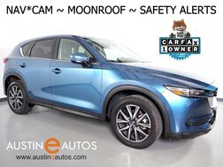2018_Mazda_CX-5 Grand Touring_*NAVIGATION, BLIND SPOT ALERT, COLLISION ALERT, LANE DEPARTURE WARNING, BACKUP-CAM, MOONROOF, LEATHER, BOSE, BLUETOOTH_ Round Rock TX