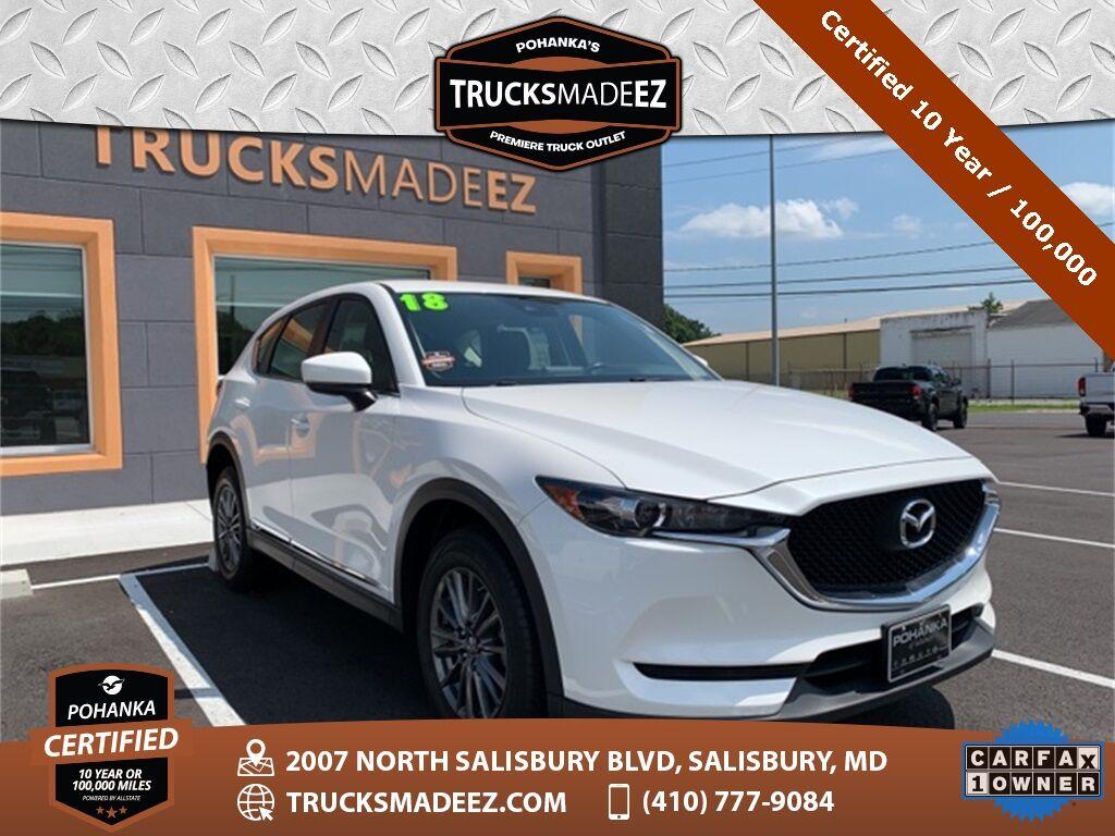 2018 Mazda CX-5 Sport AWD ** Pohanka Certified 10 Year / 100,000  ** Salisbury MD