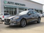 2018 Mazda MAZDA3 s Touring AT 4-Door LEATHER, BACKUP CAMERA, BILND SPOT MONITOR, PUSH BUTTON START, FRONT HEATED STS