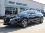 2018 Mazda MAZDA6 Touring 6A LEATHER, ADAPTIVE CRUISE, BLIND SPOT, HTD FRONT STS, NAVIGATION, UNDER FACTORY WARRANTY
