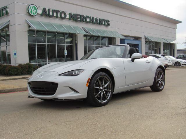 2018 Mazda MX-5 Miata Grand Touring 6AT 2.0L 4CYL AUTOMATIC, LEATHER SEATS, BLIND SPOT MONITOR, HEATED FRONT SEATS Plano TX