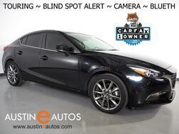 2018_Mazda_Mazda3 4-Door Touring_*BLIND SPOT ALERT, BACKUP-CAMERA, COLLISION ALERT, TOUCH SCREEN, HEATED SEATS, 18 INCH ALLOYS, BLUETOOTH PHONE & AUDIO_ Round Rock TX
