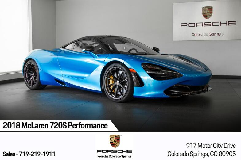 2018 McLaren 720S Performance Colorado Springs CO