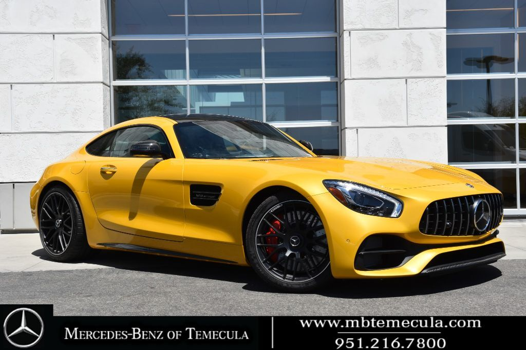 2018 Mercedes-Benz AMG GT AMG GT C Rear Wheel Drive Coupe