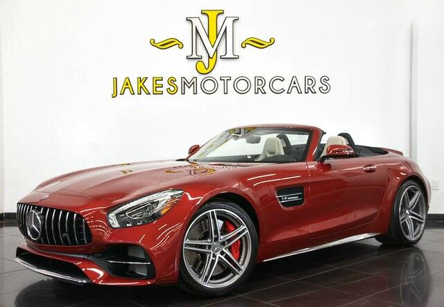 2018 Mercedes-Benz AMG GT C Roadster ($172,375 MSRP) **ONLY 1,000 MILES**