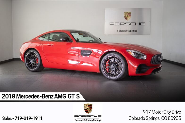 2018 Mercedes-Benz AMG® GT S Colorado Springs CO