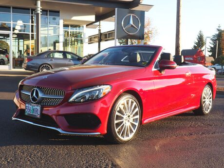 2018 Mercedes-Benz C 300 4MATIC® Cabriolet Salem OR