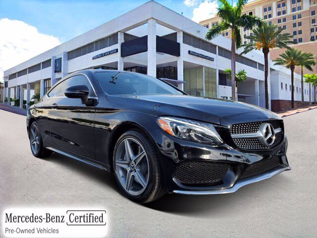 2018 Mercedes-Benz C 300 4MATIC® Coupe # Z146 Coral Gables FL