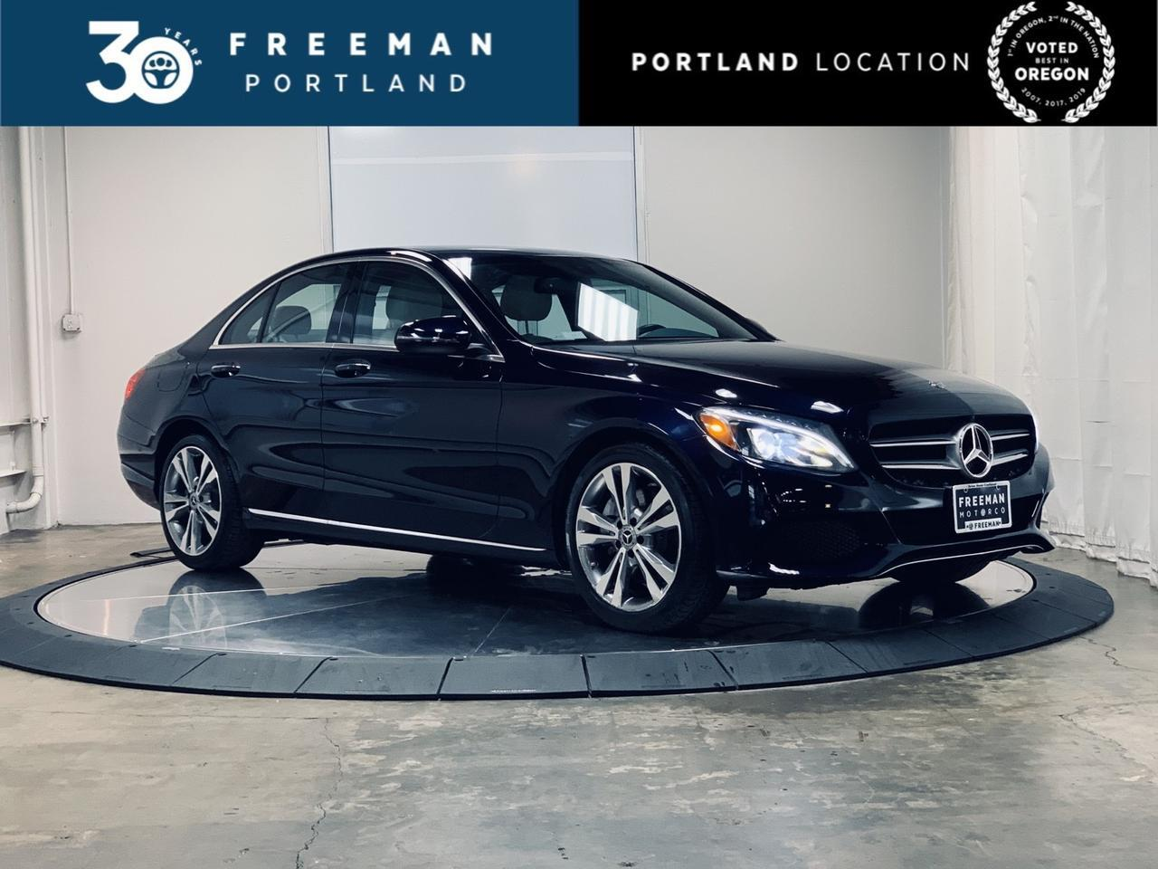 2018 Mercedes-Benz C 300 Apple CarPlay Burmester Surround Sound Htd Seats Portland OR