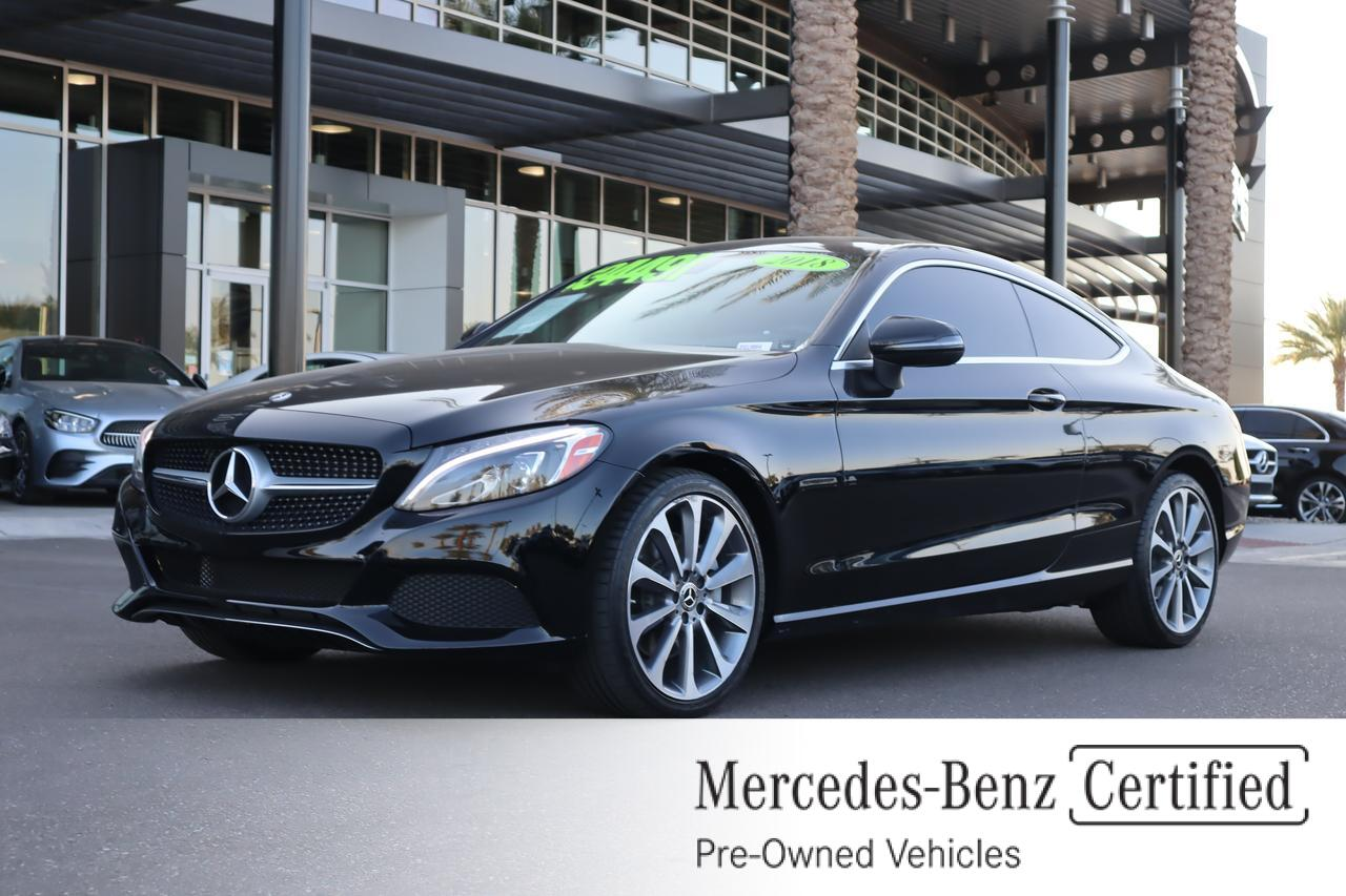 2018 Mercedes-Benz C 300 Coupe Gilbert AZ