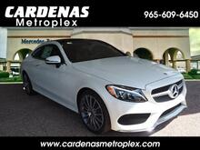 2018_Mercedes-Benz_C_300 Coupe_ Harlingen TX