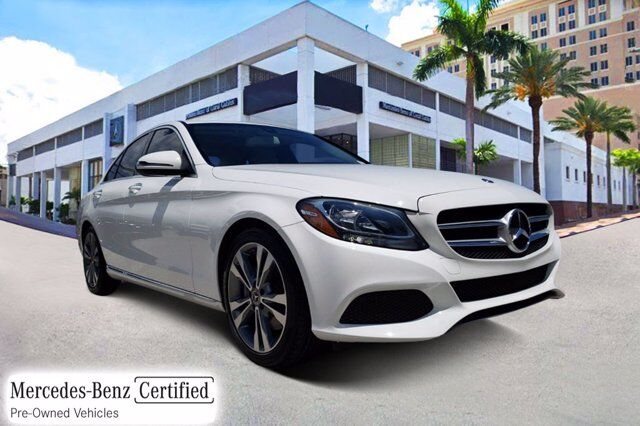 2018 Mercedes-Benz C 300 Sedan # Y8115 Coral Gables FL
