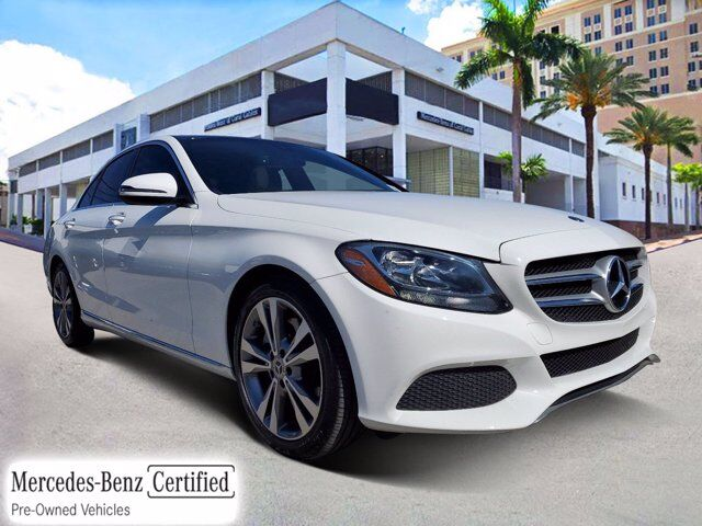 2018 Mercedes-Benz C 300 Sedan Coral Gables FL