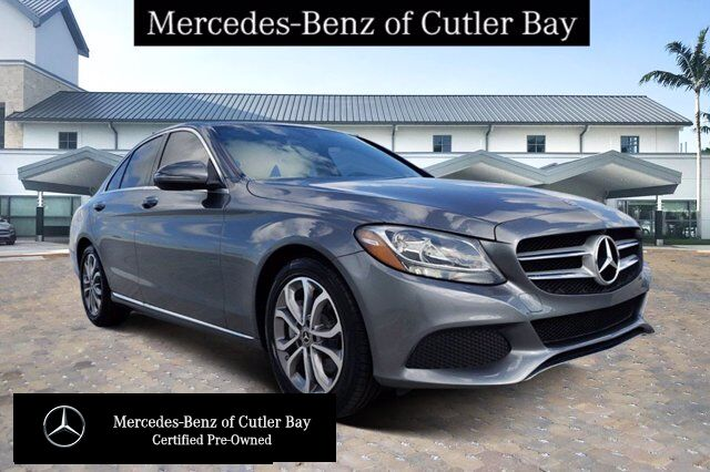 2018 Mercedes-Benz C 300 Sedan # V7145CB Cutler Bay FL