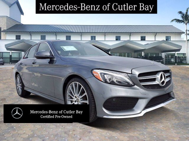 2018 Mercedes-Benz C 300 Sedan Cutler Bay FL