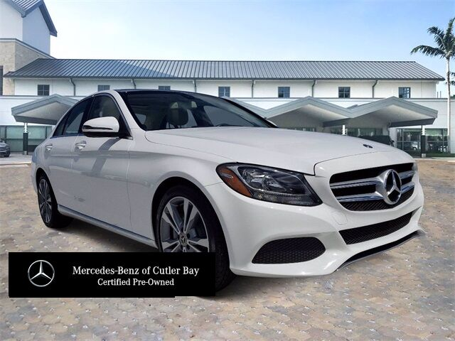 2018 Mercedes-Benz C 300 Sedan # W4148CB