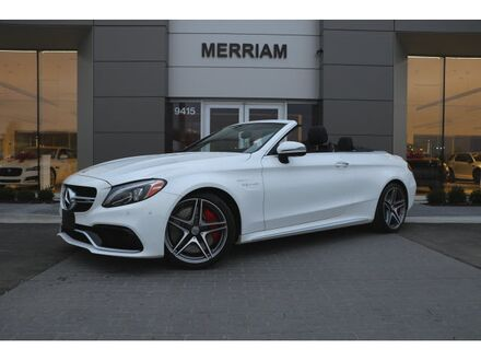 2018_Mercedes-Benz_C_AMG® 63 S Cabriolet_ Merriam KS