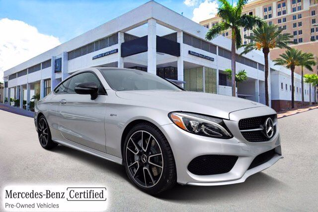 2018 Mercedes-Benz C AMG® 43 Coupe # Y9144B Coral Gables FL