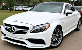 2018_Mercedes-Benz_C-Class_** AMG C 63 ** - w/ NAVIGATION & LEATHER SEATS_ Lilburn GA