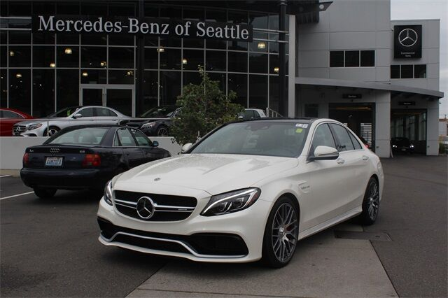2018 Mercedes-Benz C-Class AMG® 63 S Sedan